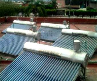 Calentamiento de Agua con Energía Solar – Baxter