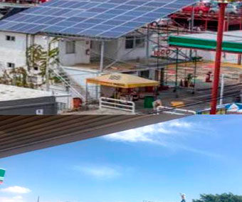 Primeras dos Gasolineras en la República con Generación de Energía Eléctrica