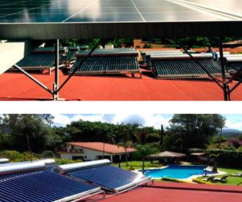 Sistema Fotovoltaico y Calentamiento de Agua con Energía Solar – Hoteles de Tepoztlán