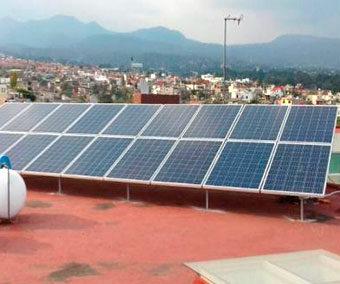 Generación de energía – Fraccionamiento Lomas de Tzompantle Cuernavaca