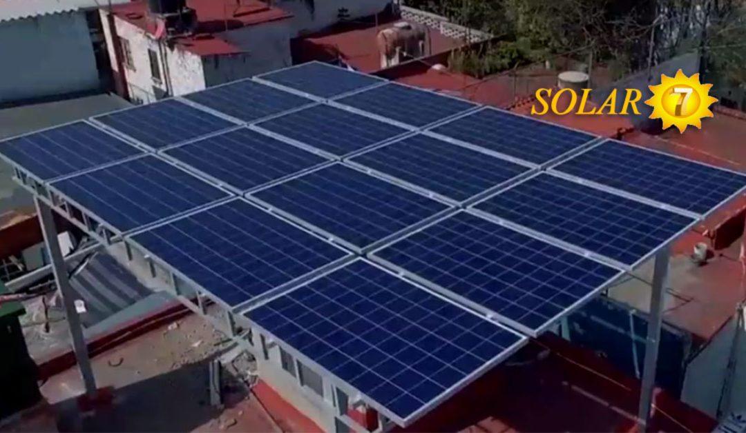 Proyecto de Paneles Solares para las tiendas Adidas en México